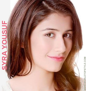 Syra Yousuf Top Pakistani Fashion Model and Actress